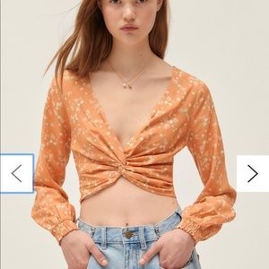 NWT urban outfitters crop top
